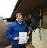 Laurence Hughes with AMTRA SQP certificate