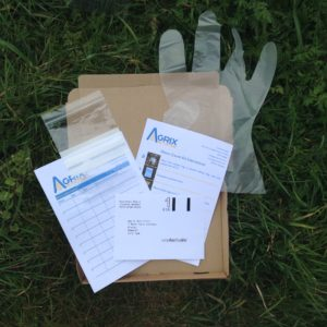 Postal worm count kit